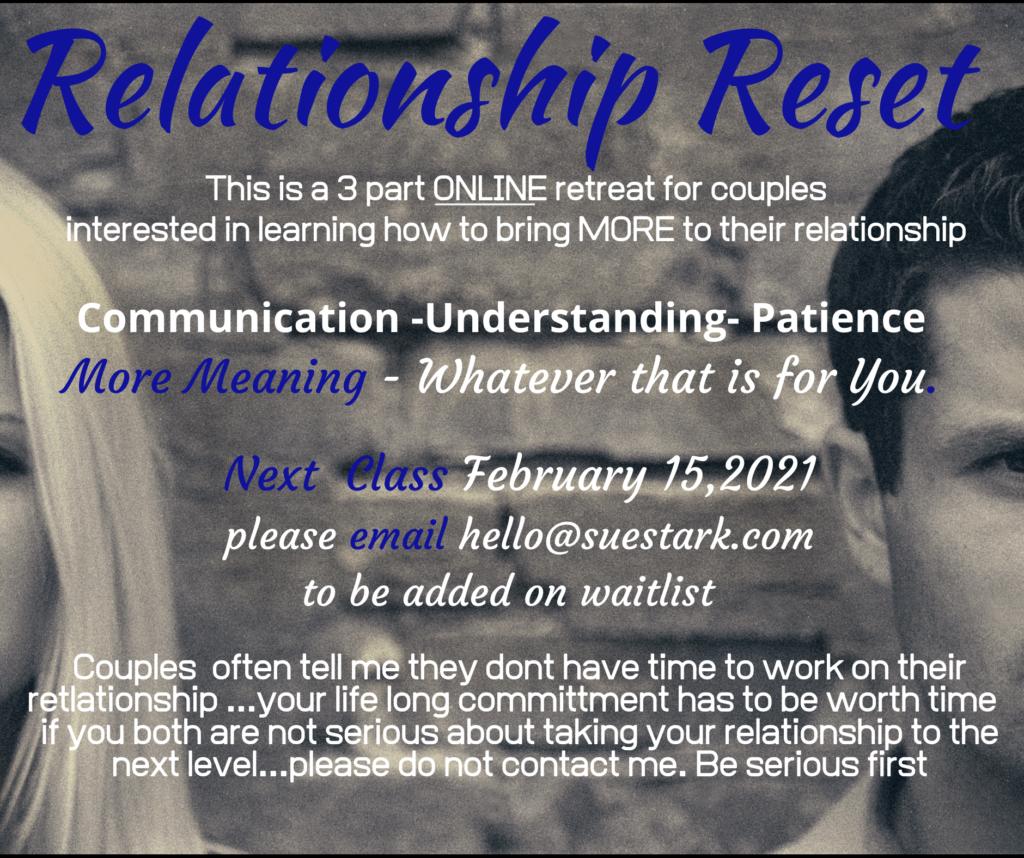 Relationship Reset
