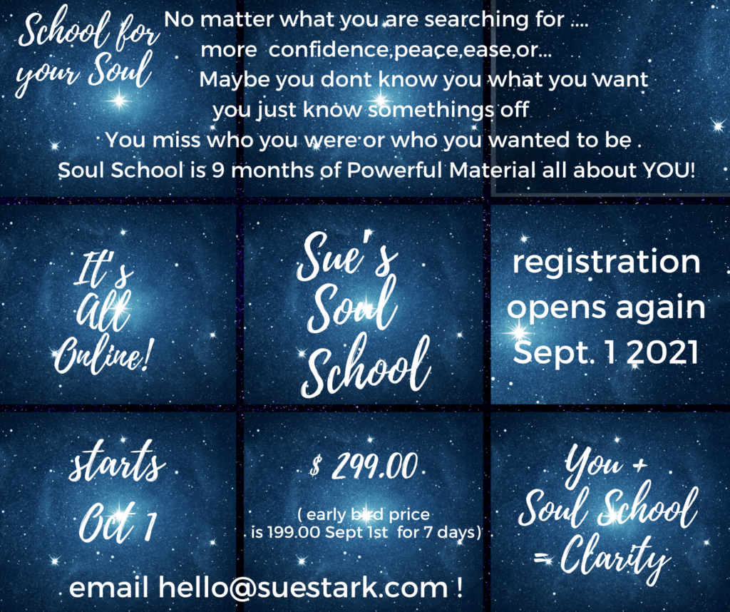 Soul School Don't Miss out ! Registration closing Friday!